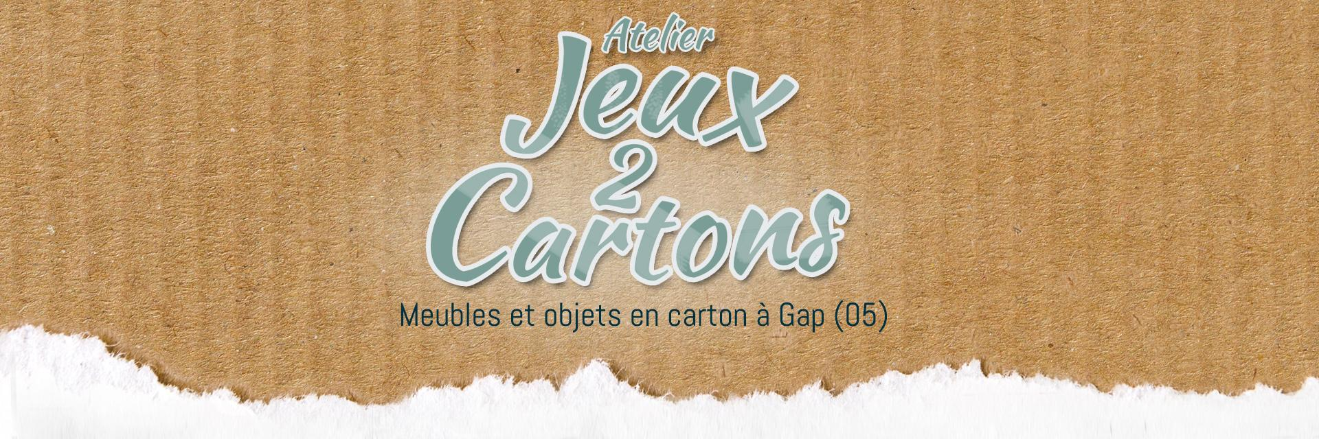 Creation de meubles en cartons