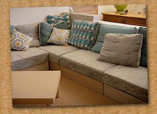 Creation meuble en carton gap