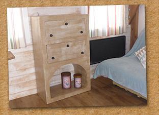 Vente meuble en carton Gap